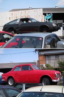 トヨタ セリカXX と ボルボ 131/132?