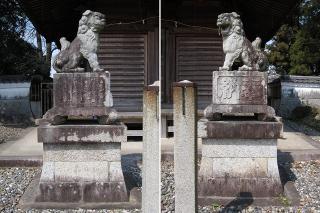 瓶井神社の狛犬