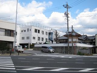 国道1号線と旧東海道