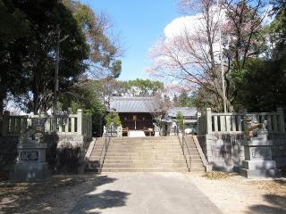 大平八幡社の狛犬
