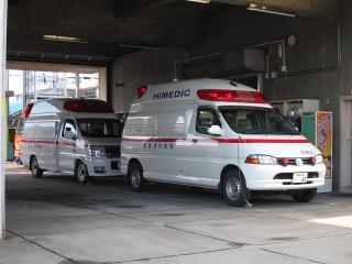 南救急2号車&1号車