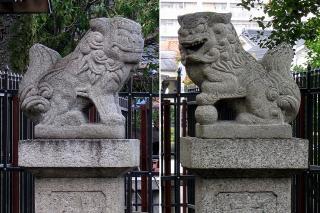 六所宮の狛犬