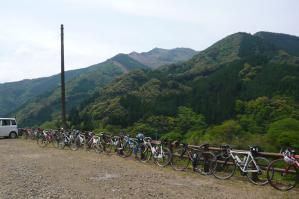 銀鏡神社サイクリングイベントツール・ド・東米良