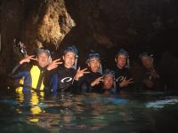 送迎付き青の洞窟