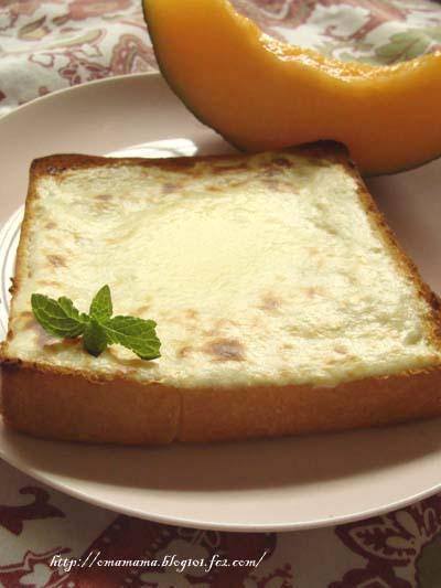 Cheese Cake Toast