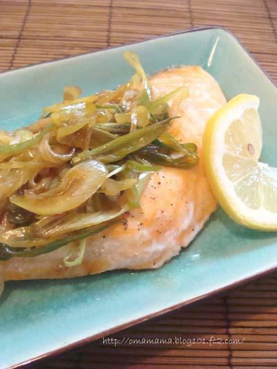 Salmon-Onion Sauce
