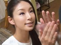 【手コキ】チ○ポ洗い屋さんの女の子が勃起ペニスを優しく洗浄!