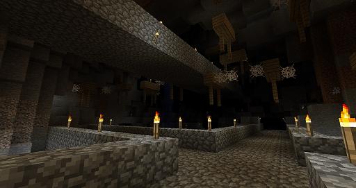 MC整備される地下道