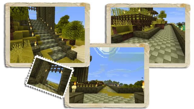 MC城門から畑奥まで