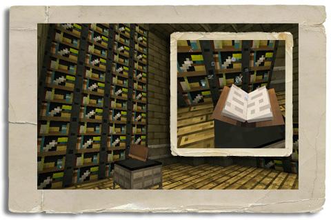 MC図書館建造中