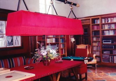シエナホテル図書館
