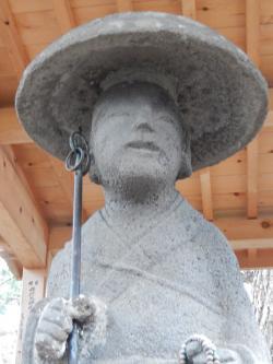 最古の弘法大師像