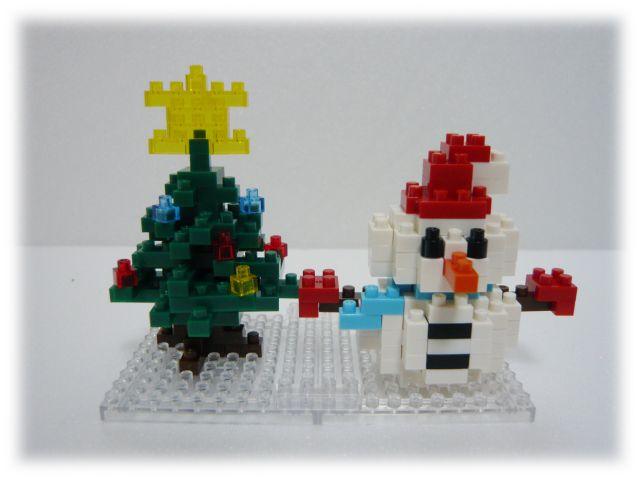 NBC-100 雪だるま&クリスマスツリー