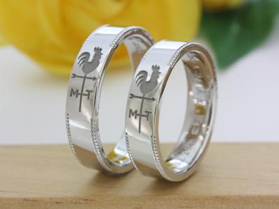 【Oreficeria高林】静岡県浜松市オーダーメイドの婚約指輪(エンゲージリング)・結婚指輪(マリッジリング)/