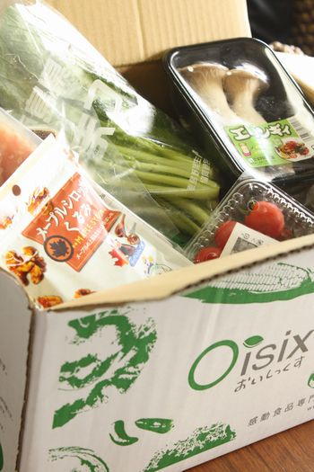 Oisixオイシックス口コミ~放射能検査済み子供のために安心有機野菜