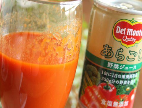 口コミ!デルモンテ史上最高!通販限定あらごし野菜ジュース