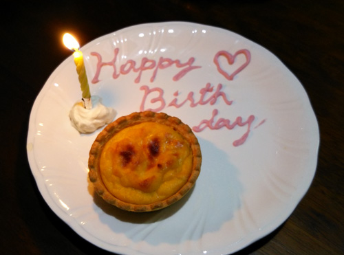 誕生日エッグマフィン1401