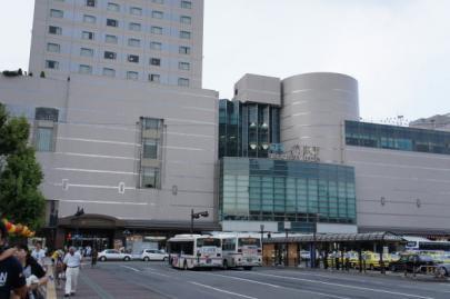 午後3時 徳島駅前に到着!