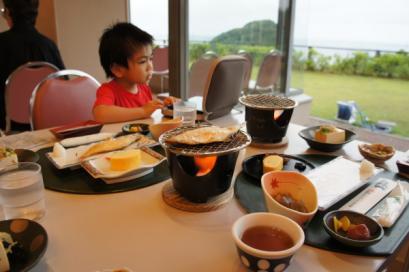 朝食もたくさん食べました。