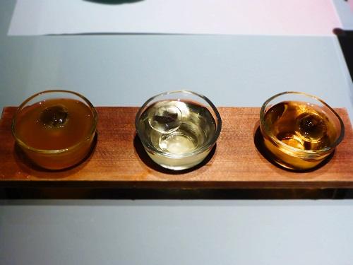 梅酒飲み比べ