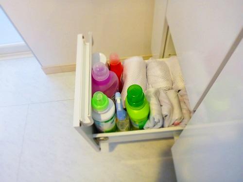 洗面台下左側下段
