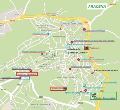 Mapa de Aracena 2