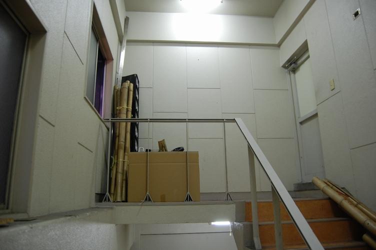 そのまた上の階段。
