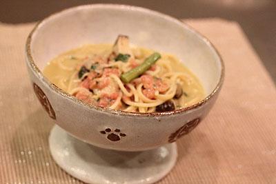 蟹味噌パスタ2