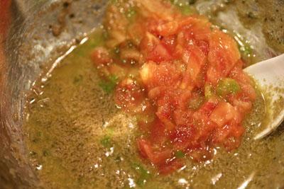 蟹味噌トマト
