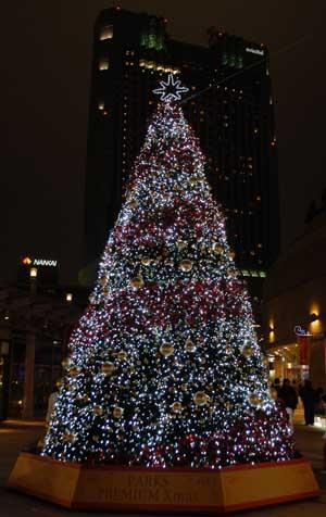2007クリスマスツリーatなんばパークス