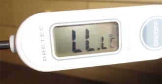 201402 壊れた熱伝対式温度計
