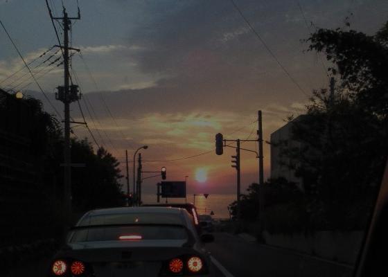 130610夕陽