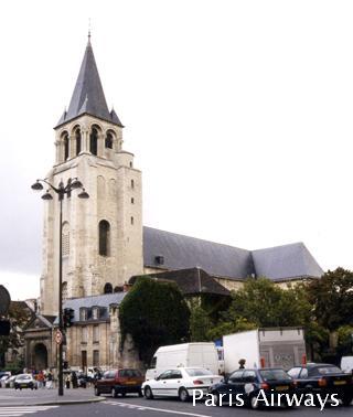 サンジェルマンデプレ教会 パリ