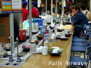 ロンドン パディントン駅 回転寿司