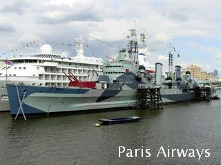 ロンドン 軍艦 ベルファスト号