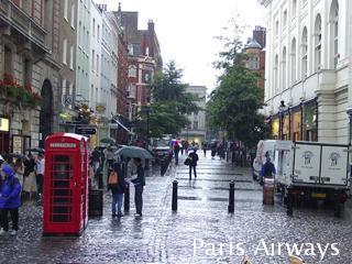 ロンドン James street コベントガーデン