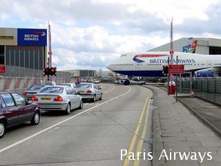 ロンドン british airways メンテナンスエリア イーストチャーチ