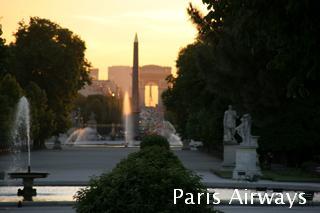 パリ コンコルド広場 凱旋門 シャンゼリゼ