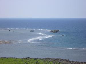 東シナ海のはず…