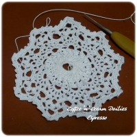 Coffee 'n' Cream Doilies 1. Espresso
