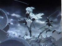 銀魂・天人と戦う銀さん