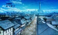 銀魂 江戸の町を威圧する塔