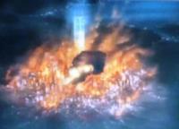 銀魂・塔の炎上