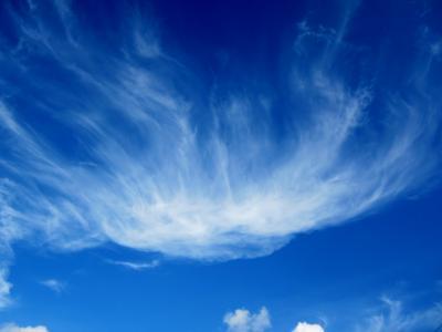 みぃーの30キロ走 ここは日本かと思えるような雲