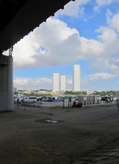 みぃーの30キロ走 二子玉川の新しいマンション風景