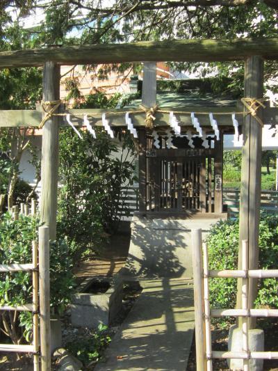 都立野川公園 近藤勇 神社