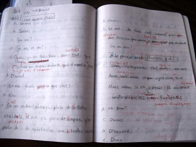 虎と小鳥のフランス日記 43話 ディクテ