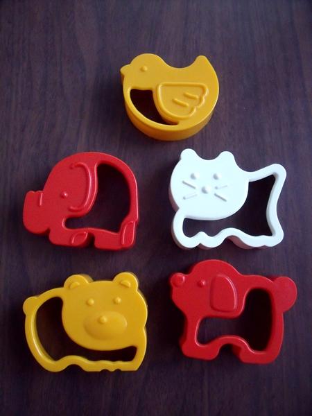 動物のクッキー型