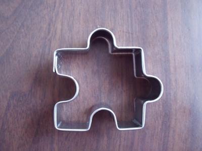 パズルのピースのクッキー型