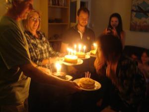 my bday cakes '11